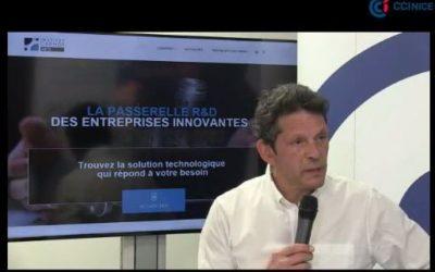 Interview « 3 min avec l'institut Carnot ARTS » – CCI TV Nice Côte d'Azur