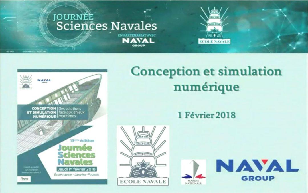 La Journée Sciences Navales sous le signe de la conception et simulation numérique