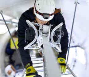 FIXATOR vise le marché mondial des éoliennes avec une aide à la montée autonome, fiable et confortable