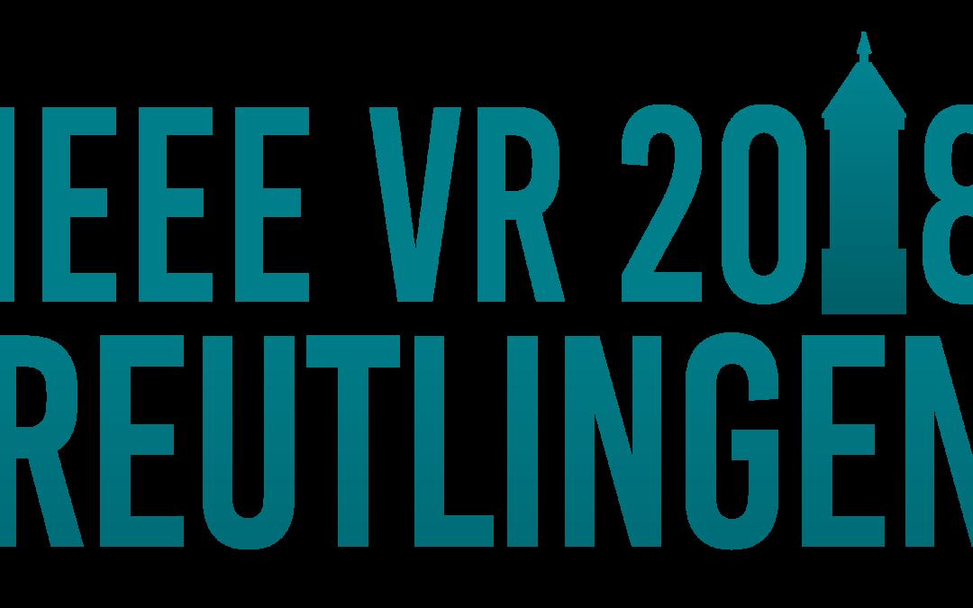 L'institut Image reçoit un prix lors de la conférence IEEE VR 2018