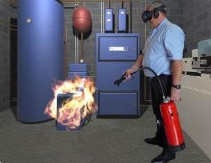 Un dispositif innovant de simulateur en réalité virtuelle pour la formation incendie