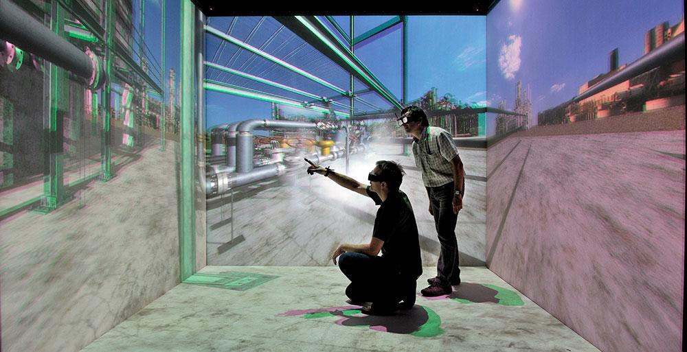 Simulateur et réalité virtuelle