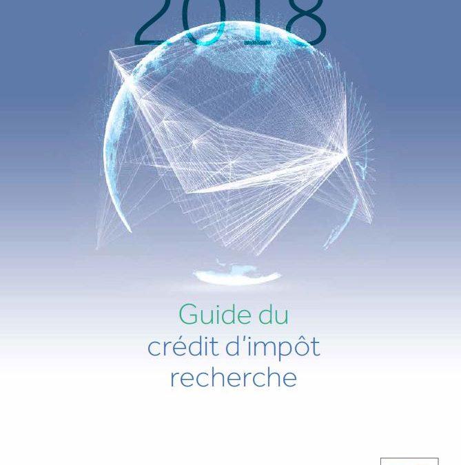 Le guide du crédit d'impôt recherche 2018