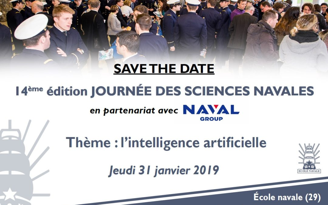 La Journée Sciences Navales 2019 sous le signe de l'intelligence artificielle