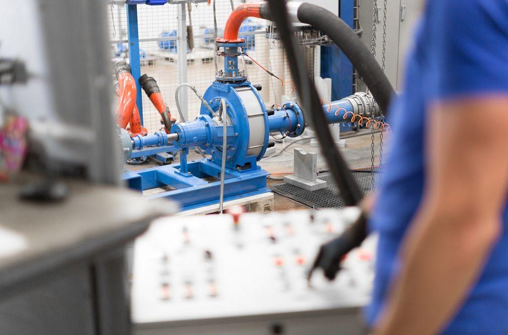 Un laboratoire commun entre Dynfluid et Someflu pour optimiser la conception de pompes centrifuges en plastique