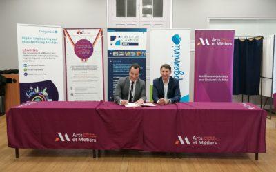 Signature d'une nouvelle chaire « PLM du futur » avec Capgemini