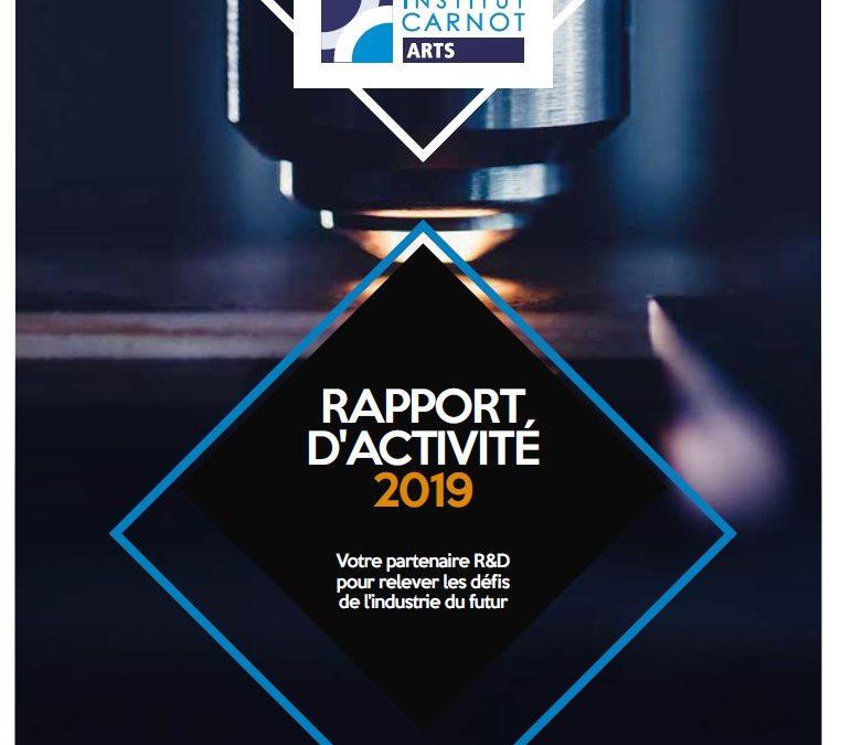 Le Rapport d'activité 2019 vient de paraitre
