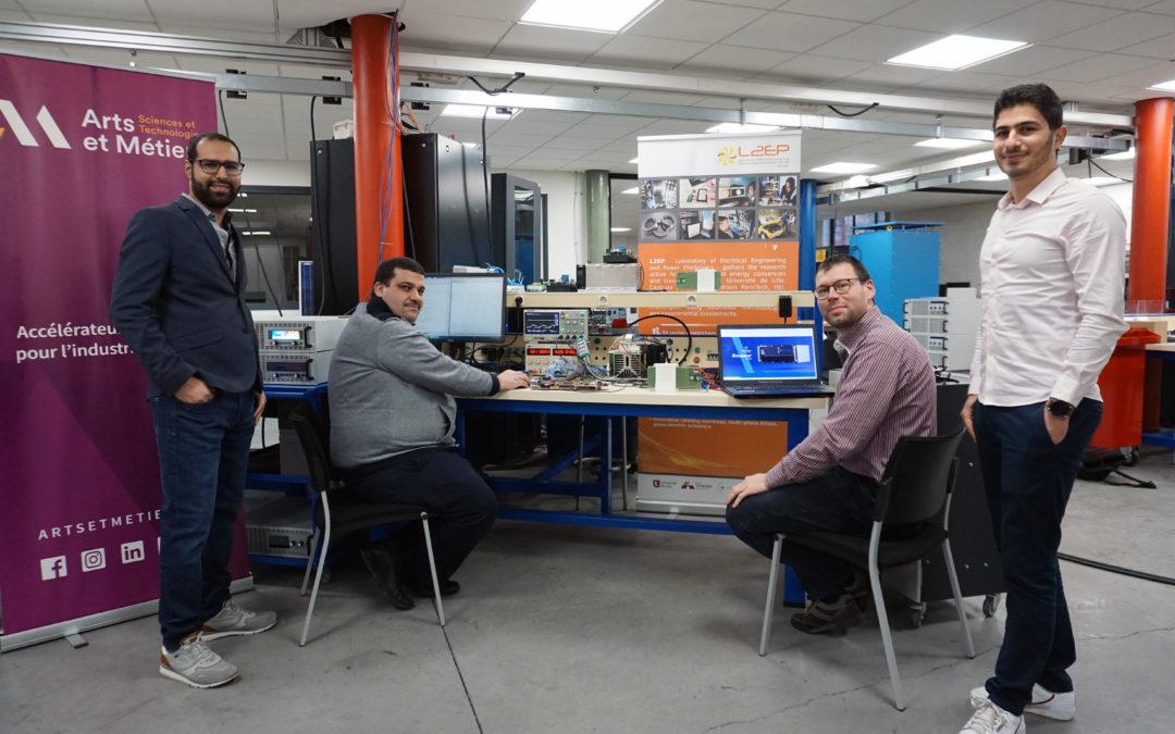 SPHEREA – Développer un équipement électromécanique grâce à la simulation temps réel