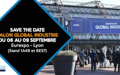 Retrouvez l'institut Carnot ARTS sur le Salon Global Industrie du 06 au 09 septembre 2021 à Lyon.