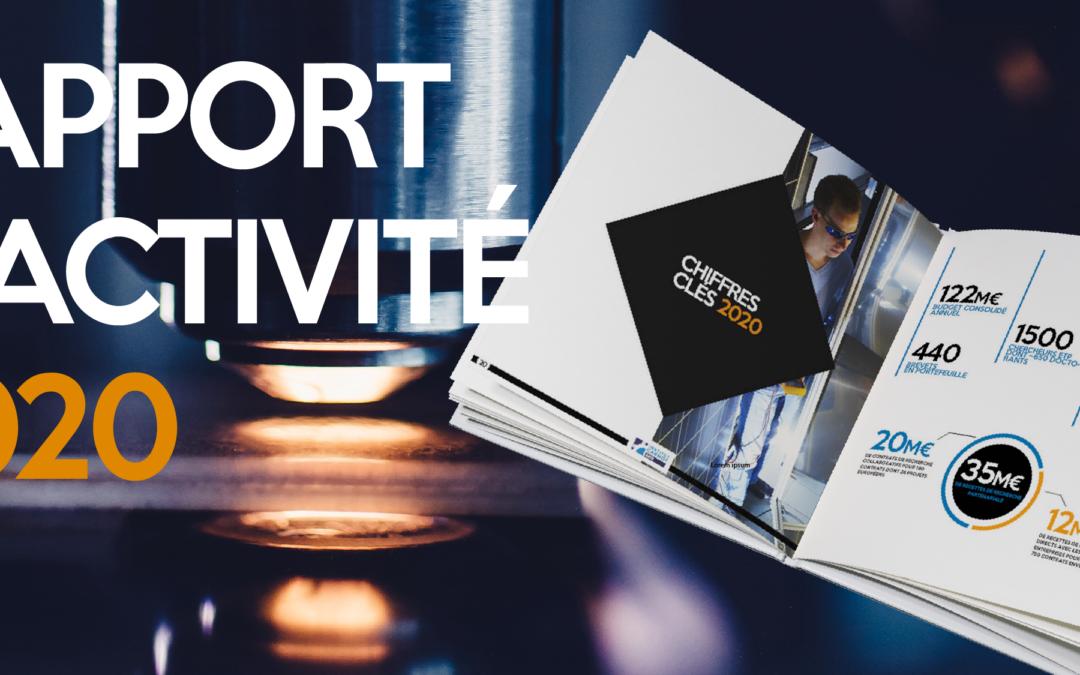 Parution du rapport d'activité 2020 !